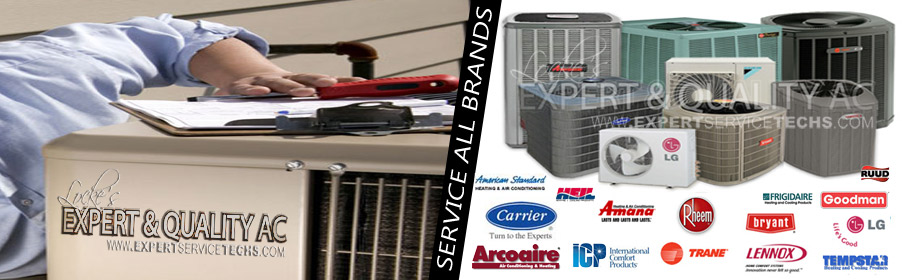 Repair all brands of air conditioning units
